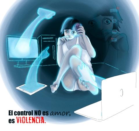 Nadinka Flores basta de violencia virtual